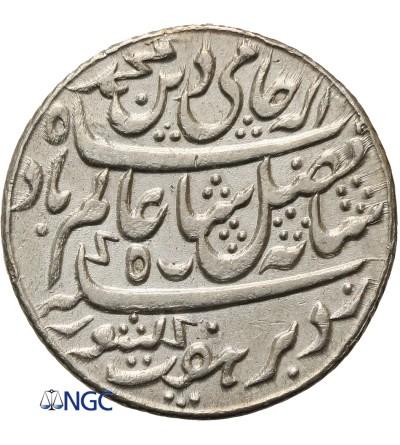 India British 1/2 Rupee AH 19 (1793 AD), Bengal Presidency - NGC MS 61