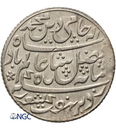 Indie Brytyjskie 1 rupia AH 19 (1793 AD), Bengal - NGC MS 62