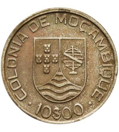Mozambik 10 escudos 1936