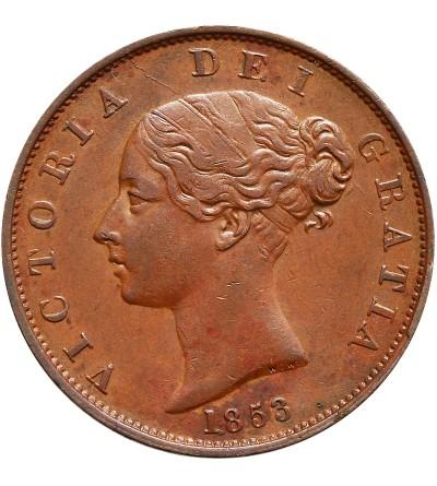 Wielka Brytania 1/2 penny 1853