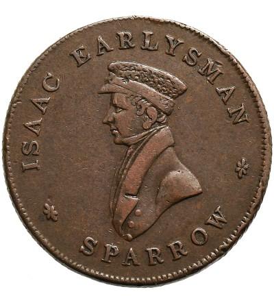 Wielka Brytania Token Farthing 1825, Isaac Earlysman Sparrow