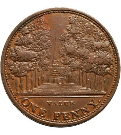 Wielka Brytania Token 1 Penny 1812, John Bishop