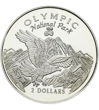 Wyspa Cooka 2 dolary 1996