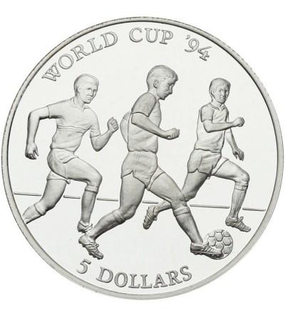 Wyspa Cooka 5 dolarów 1991, MŚ w piłce nożnej 94