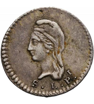 Mexico 1/4 Real 1844, San Luis Potosi