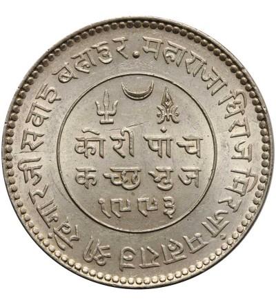 India - Kutch 5 Kori 1936