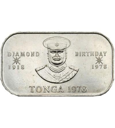 Tonga 1 paanga 1978 F.A.O.
