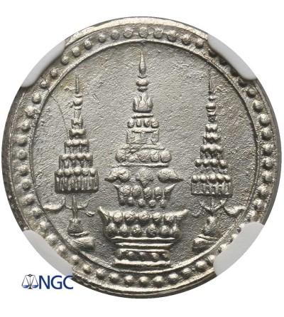 Tajlandia 1/4 Baht (Salung) bez daty (1869) - NGC MS 64