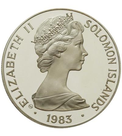 Wyspy Salomona 5 dolarów 1983, międzynarodowy rok dziecka