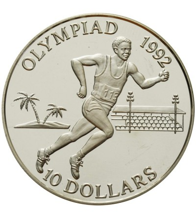 Wyspy Salomona 10 dolarów 1991, olimpiada 1992