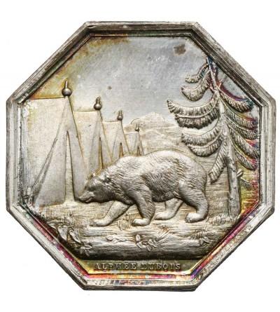Francja srebrny żeton Société d'Ourscamp, Mercier et Cie. 1880