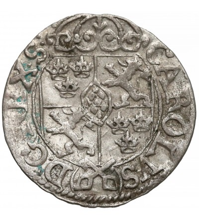 Ryga, szwedzka okupacja. Półtorak (1/24 talara) 1669, Karol XI 1660-1697