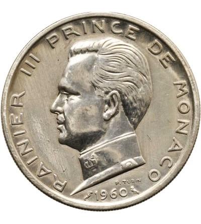 Monako 5 franków 1960