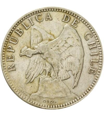 Chile 1 peso 1895