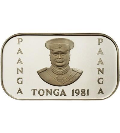 Tonga 1 paanga 1981 F.A.O.