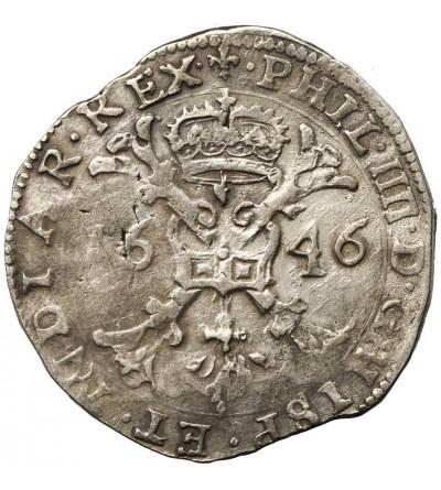 Niderlandy Hiszpańskie (Beligia). Talar (Patagon) 1646, Flandria