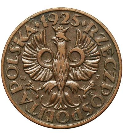 Polska 5 groszy 1925, Warszawa