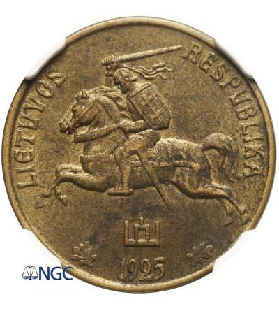 Litwa 50 centów 1925 - NGC AU 58