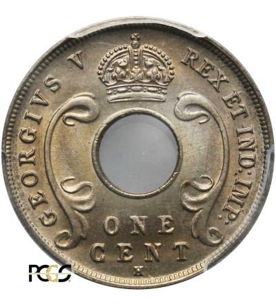 Afryka Wschodnia & Protektorat Ugandy 1 cent 1916 H - PCGS MS 67