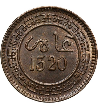 Maroko 5 Mazunas AH 1320 / 1902 AD, Bi Birmingham