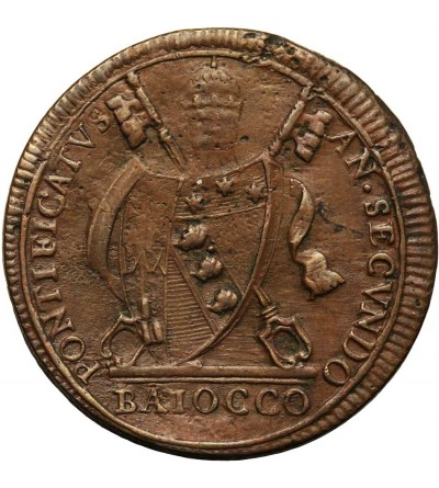 Papal States - Vatican, Baiocco 1802 IIR, Pius VII