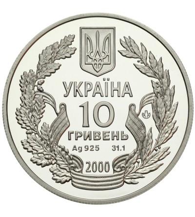 Ukraina 10 hrywien 2000, 55 lat zwyc. w wojnie ojczyźnianej