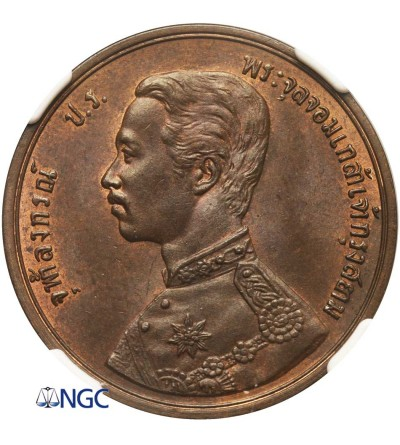 Tajlandia 2 Att RS 124 / 1905 AD - NGC UNC Details