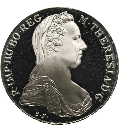 Talar 1780, Maria Teresa - nowe bicie Proof
