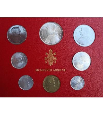 Watykan zestaw rocznikowy 1968 (VI rok pontyfikatu), Paweł VI 1963-1978