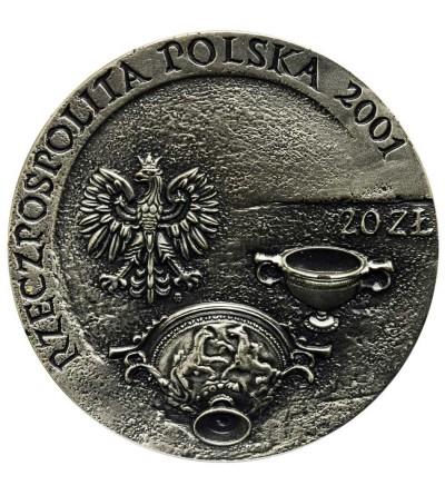 Poland 20 złotych 2001, Szlak Bursztynowy