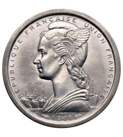 Cameroon 2 Francs 1948, ESSAI - Piedfort