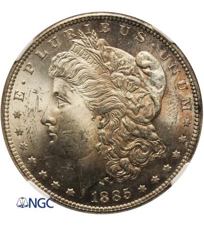 USA Morgan Dollar 1885, Philadelphia - PCGS MS 63