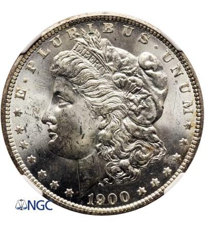 USA Morgan Dollar 1900 O, New Orleans - NGC MS 63