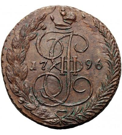 Rosja 5 kopiejek 1796 EM, Jekaterinburg