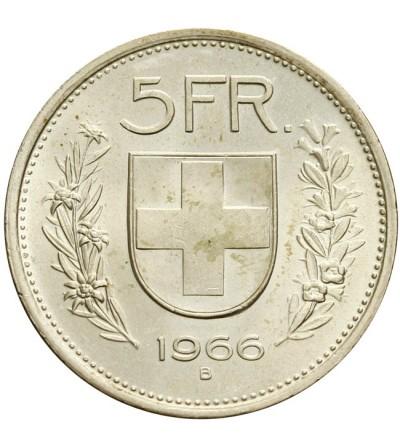 Szwajcaria 5 franków 1966
