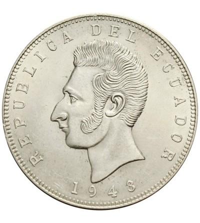 Ekwador  5 sucre 1943