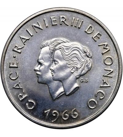 Monako 10 franków 1966