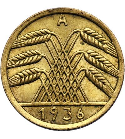Weimar Republic 5 Reichspfennig 1936 A, Berlin
