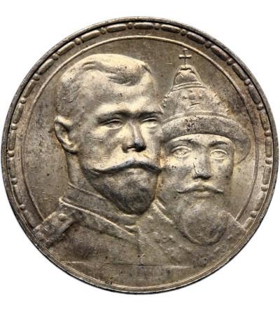 Rosja 1 rubel 1913, St. Petersburg, 300 lat dynastii Romanowych