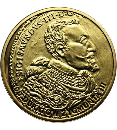 Polska 20 złotych 2017, Historia monety polskiej - 100 dukatów Zygmunta III