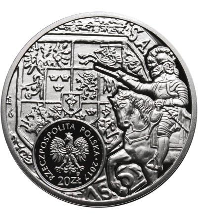 Polska 20 złotych 2017, Historia monety polskiej talar Władysława IV