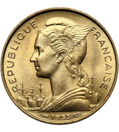 Madagaskar 20 franków 1953