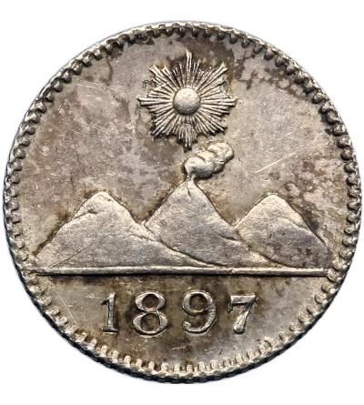 Guatemala 1/4 Real 1897