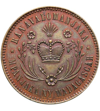 Madagaskar 10 Centimes 1883 - próba