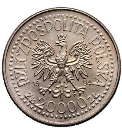 Polska 20000 złotych 1994, 75 lat Związku Inwalidów Wojennych