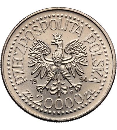 Polska 20000 złotych 1994, Zygmunt I Stary