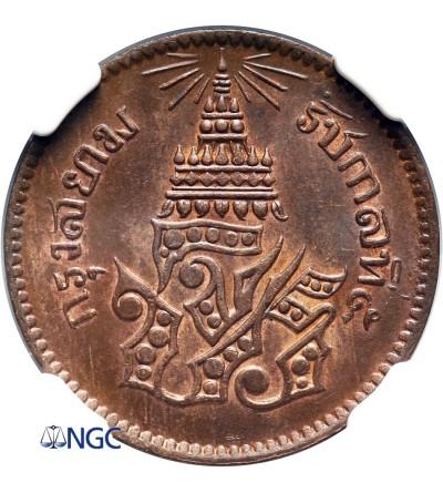 Tajlandia 1/2 Pai (1/65 Baht) CS 1236 / 1874 AD - NGC MS 65 BN