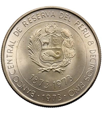 Peru 100 Soles 1973, porozumienie handlowe Peru Japonia