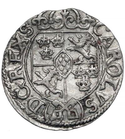 Ryga, okupacja szwedzka. Półtorak (1/24 talara) 1669, Karol XI 1660-1697
