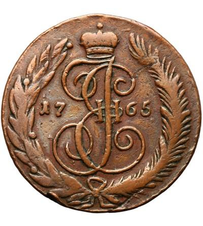 Rosja 5 kopiejek 1765 CM, Sestroretsk